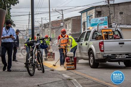 Guayaquil y la cicloruta.